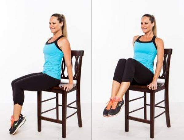 Top 3 Chair Exercises To Reduce Stubborn Belly Fat
